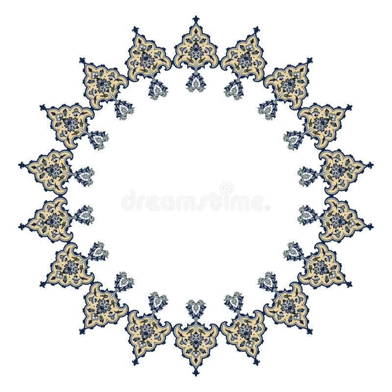 Conception persane de motif photo libre de droits
