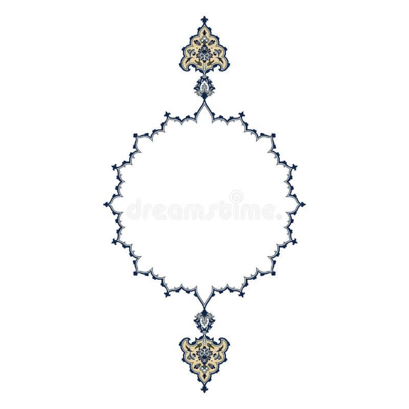 Conception persane de motif photos stock