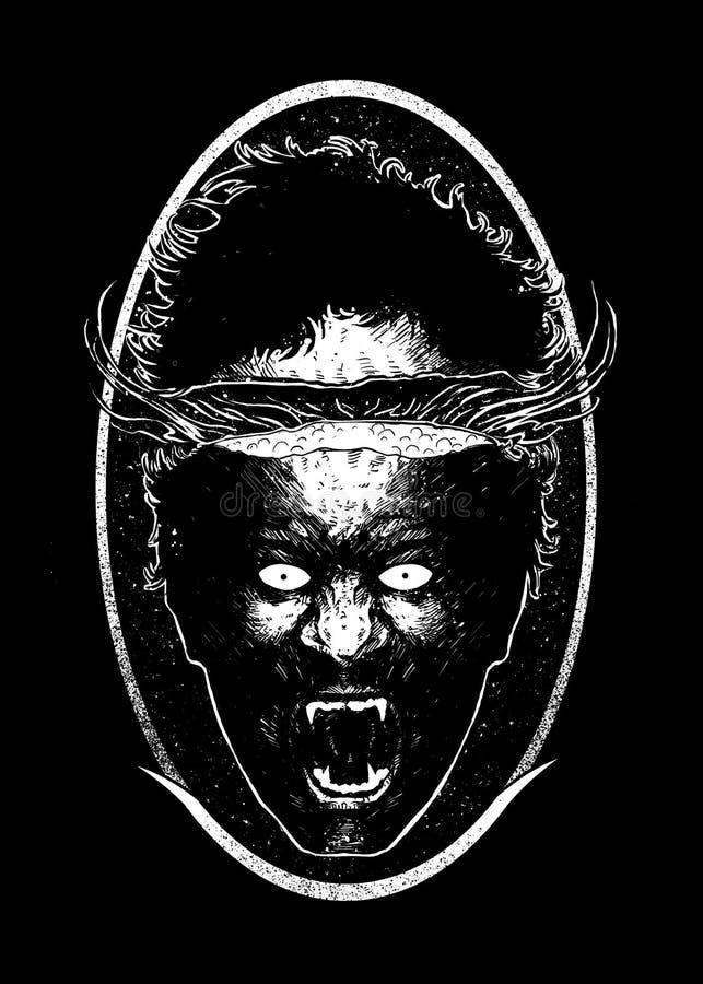 Conception principale de ébullition Art Illustration illustration de vecteur