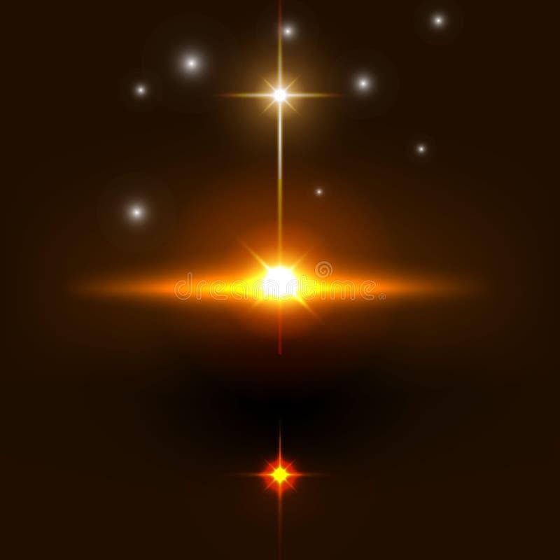 Conception religieuse chrétienne pour la célébration de Pâques illustration libre de droits