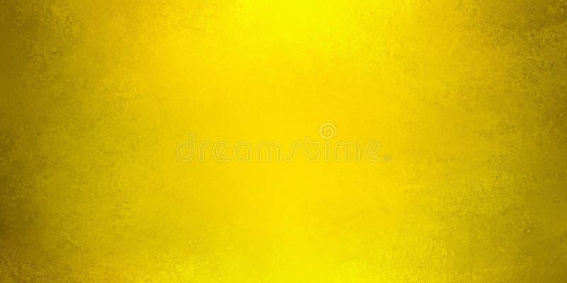 Conception riche de fond d'or avec la texture grunge de vieux cru et les shinytones chauds illustration de vecteur