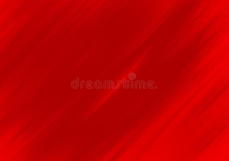 Conception rouge de papier peint de fond de courses de brosse illustration de vecteur
