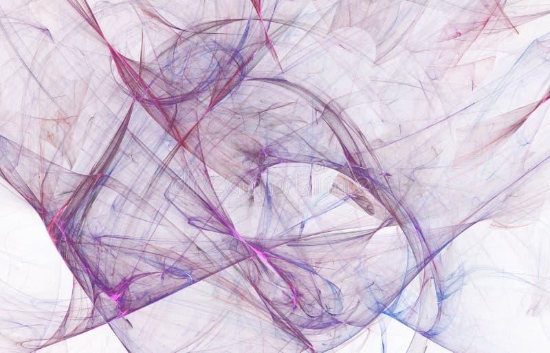 Conception rougeoyante moderne de forme Voies l?g?res ?nergiques et effets illustration stock