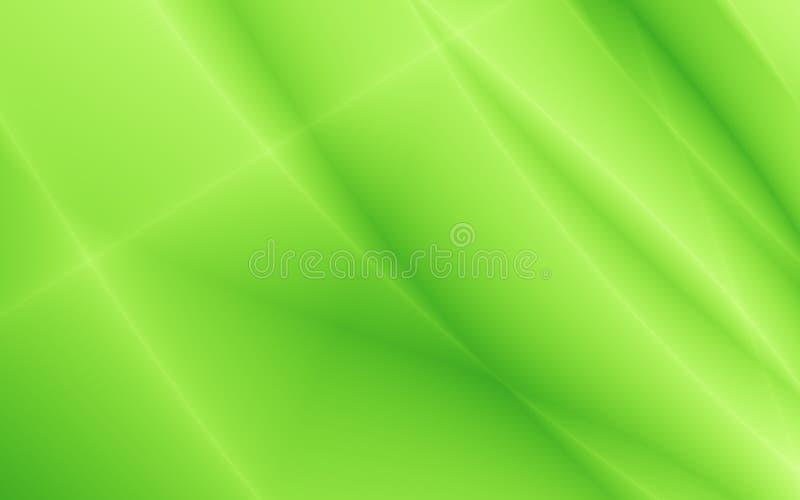 Conception simple lumineuse de vert de site Web illustration stock