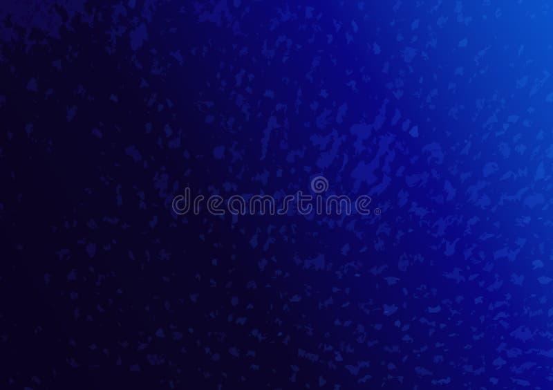 Conception texturisée bleue de fond de gradient pour le papier peint photographie stock