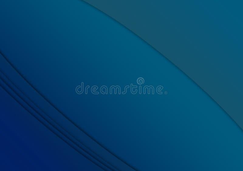 Conception texturisée linéaire bleue de fond de papier peint illustration de vecteur