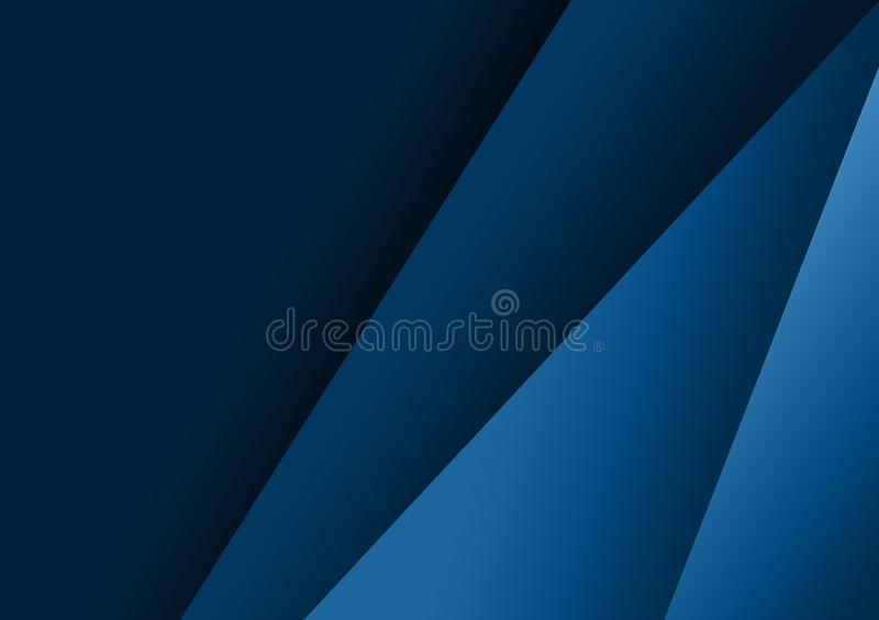 Conception texturisée linéaire bleue de fond pour le papier peint illustration de vecteur