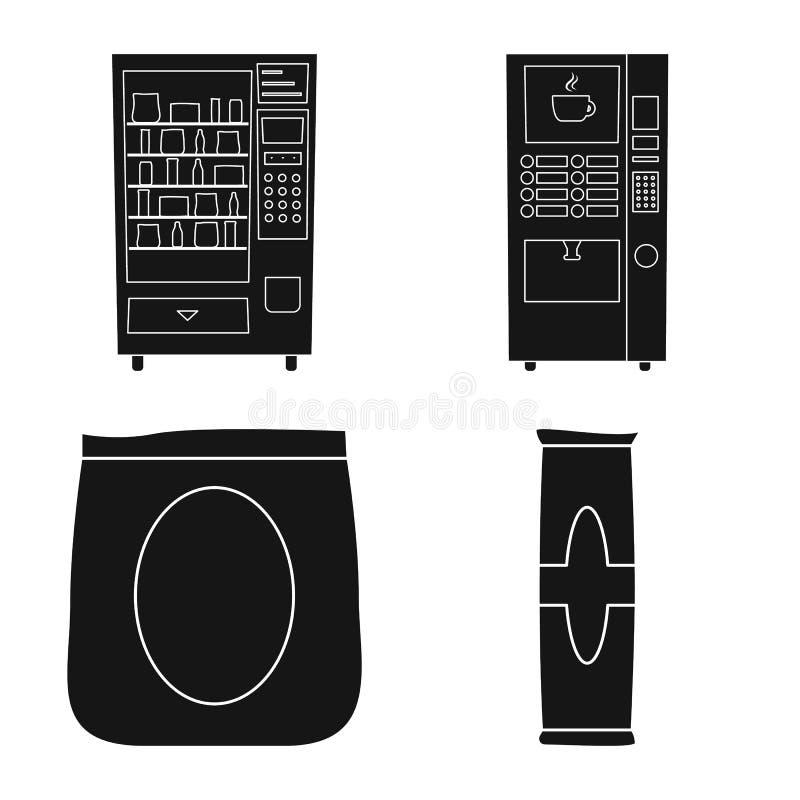 Conception vectorielle du logo de la vente au détail et de l'assortiment. Collection de symboles de stock de vente au détail et  illustration libre de droits