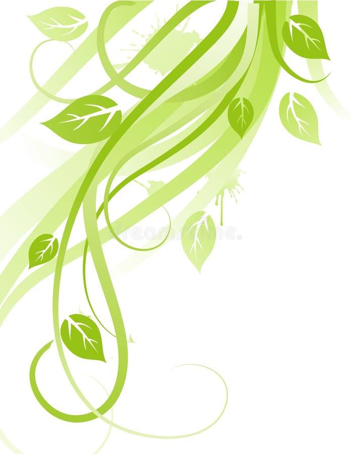 Conception verte illustration libre de droits