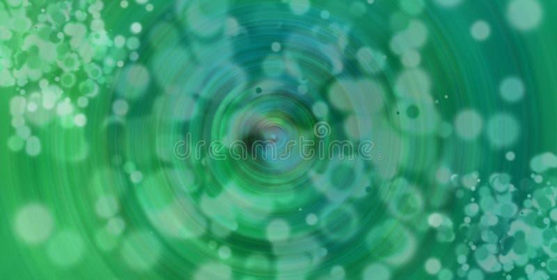 Conception verte de fond de bokeh photo stock