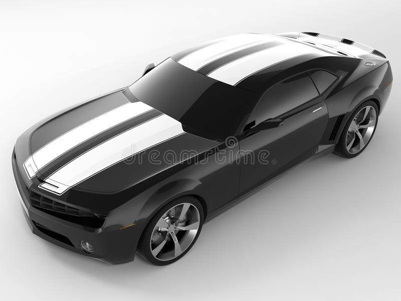 Concepto 2009 de Chevrolet Camaro foto de archivo