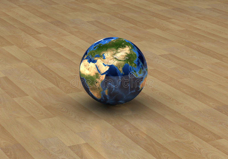 Concepto 6 del globo fotografía de archivo libre de regalías