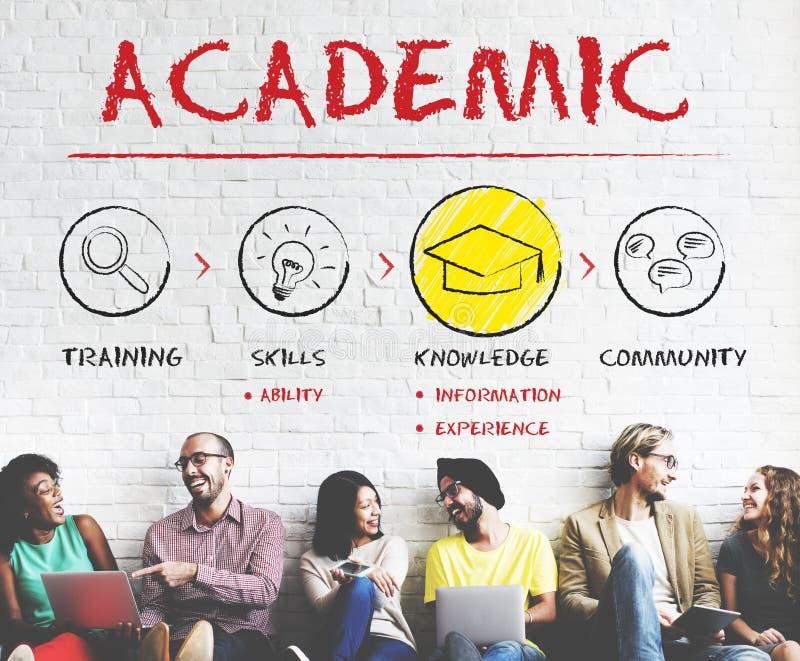 Concepto académico de la educación de la universidad de la universidad de la escuela fotos de archivo libres de regalías