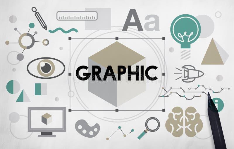 Concepto artístico de la inspiración gráfica de la innovación de las ideas libre illustration
