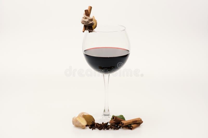 Concepto casero de la barra y de la degustación de vinos Vino de Cabernet o del merlot fotografía de archivo