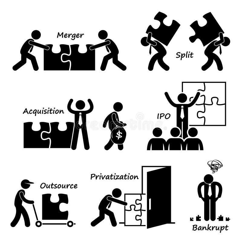 Concepto Cliparts del negocio Corporate Company libre illustration