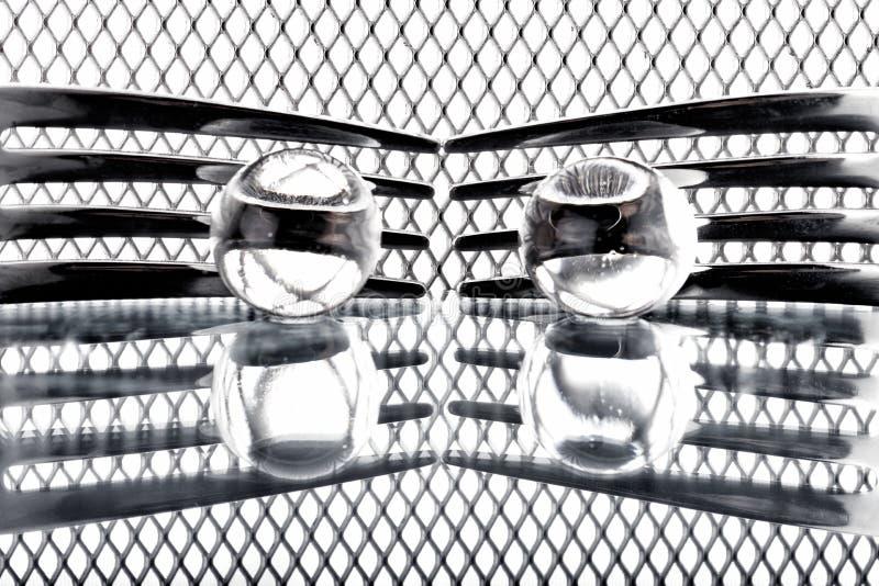 Concepto con la bifurcación en el fondo XIX de la fantasía fotografía de archivo
