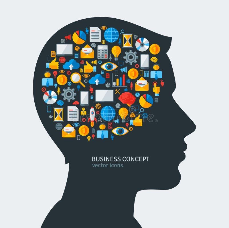 Concepto creativo de desarrollo de negocios Vector libre illustration