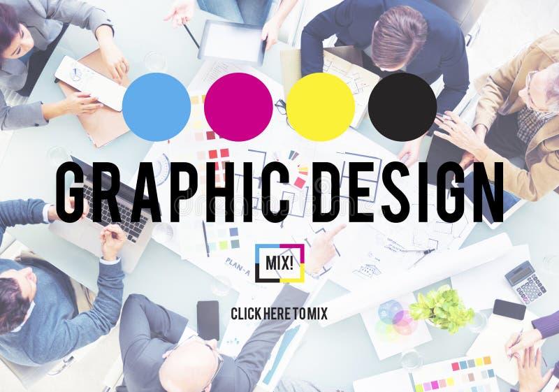 Concepto creativo gráfico del proyecto del propósito de planeamiento del diseño foto de archivo libre de regalías