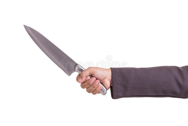 Concepto criminal del negocio: Empresaria que sostiene la nueva plata imagen de archivo