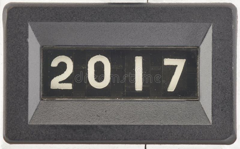 Concepto de 2017, Año Nuevo fotografía de archivo libre de regalías