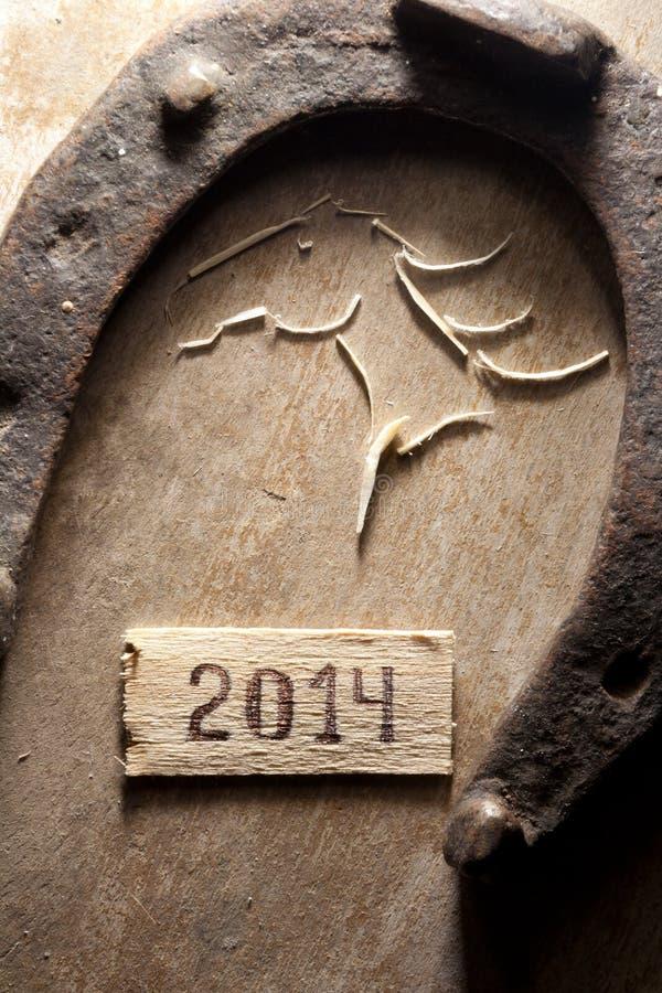 concepto de 2014 años foto de archivo libre de regalías