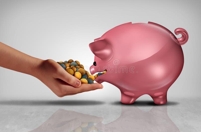 Concepto de ahorros libre illustration