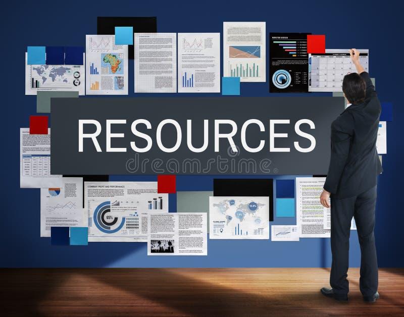 Concepto de alquiler de la gestión del empleado de los recursos fotos de archivo libres de regalías