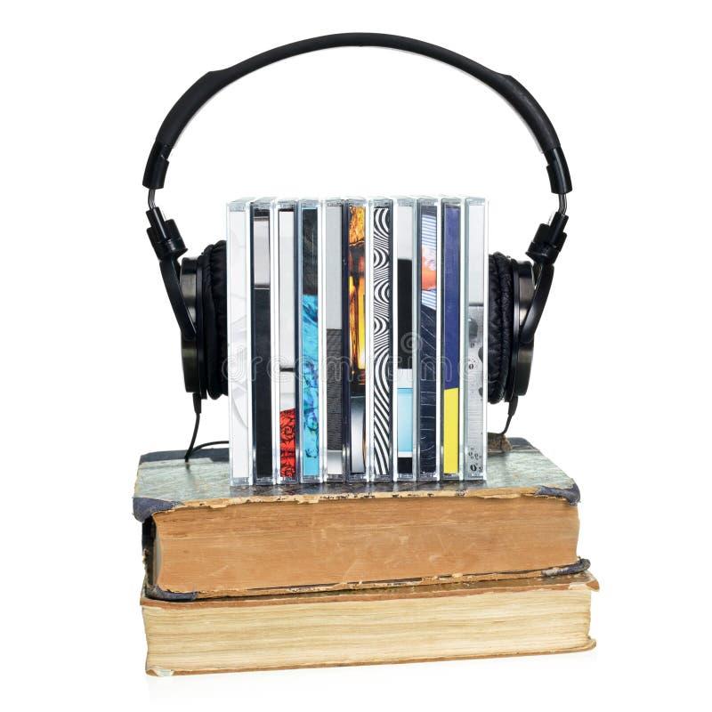 Concepto de Audiobook imagen de archivo libre de regalías