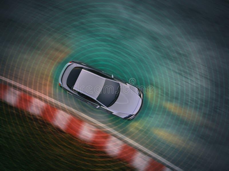 Concepto de conducción autónomo