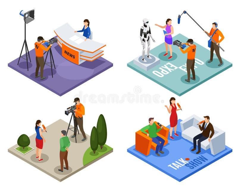 Concepto de diseño de difusión 2x2 libre illustration