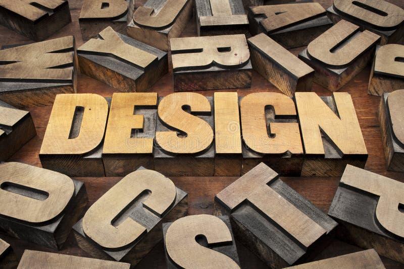 Concepto de diseño en el tipo de madera fotos de archivo libres de regalías