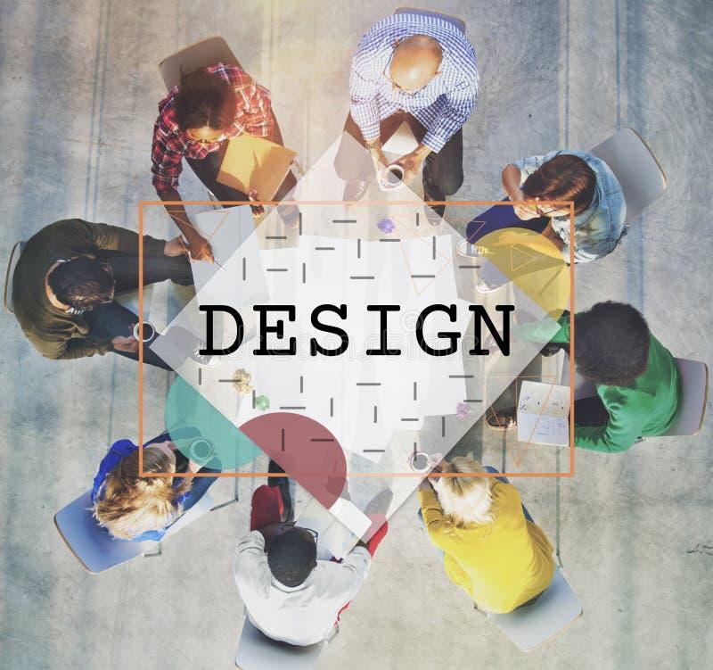 Concepto de diseño exterior interior gráfico de la moda fotos de archivo libres de regalías