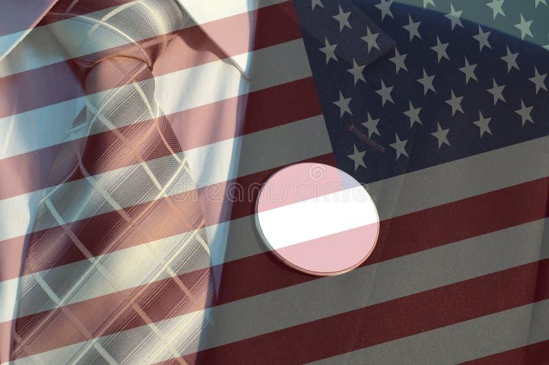 Concepto de elección americana fotos de archivo libres de regalías