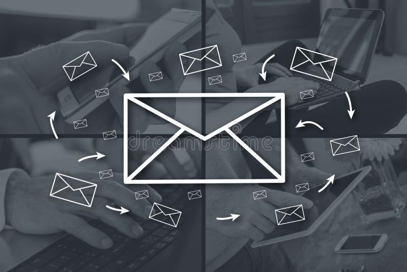 Concepto de email fotografía de archivo libre de regalías