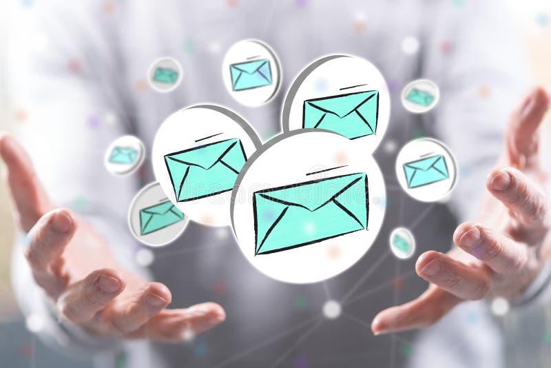 Concepto de email stock de ilustración