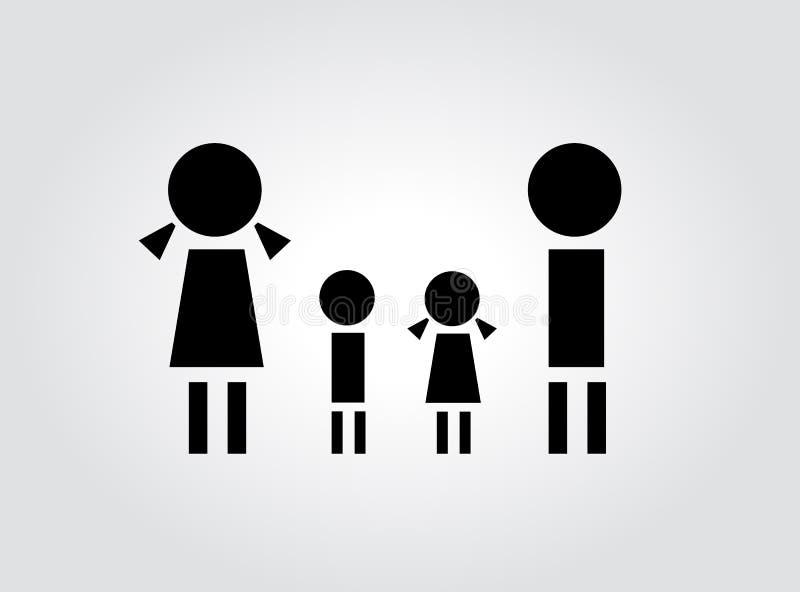 Concepto de familia ilustración del vector