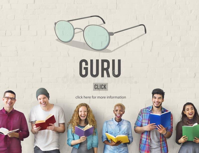 Concepto de Guru Master Mentor Leader Professional imagenes de archivo