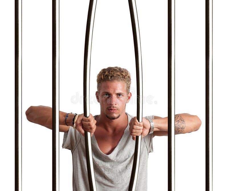 Escape de la prisión foto de archivo