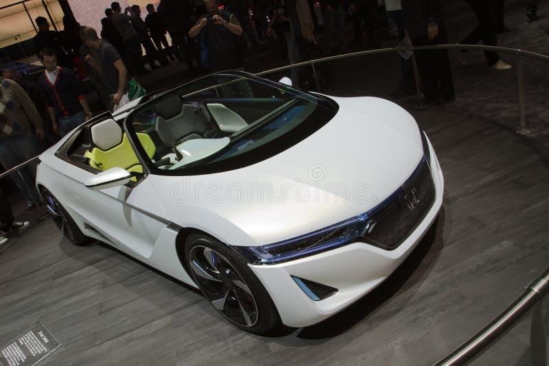 Concepto de Honda EV-Ster - demostración de motor de Ginebra 2012 fotografía de archivo
