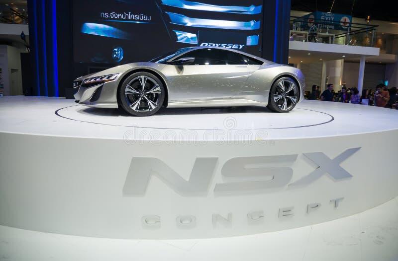 Concepto de Honda NSX en la exhibición fotografía de archivo