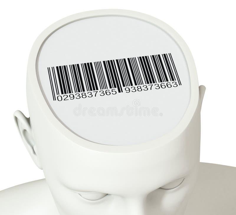 Concepto de identidad stock de ilustración