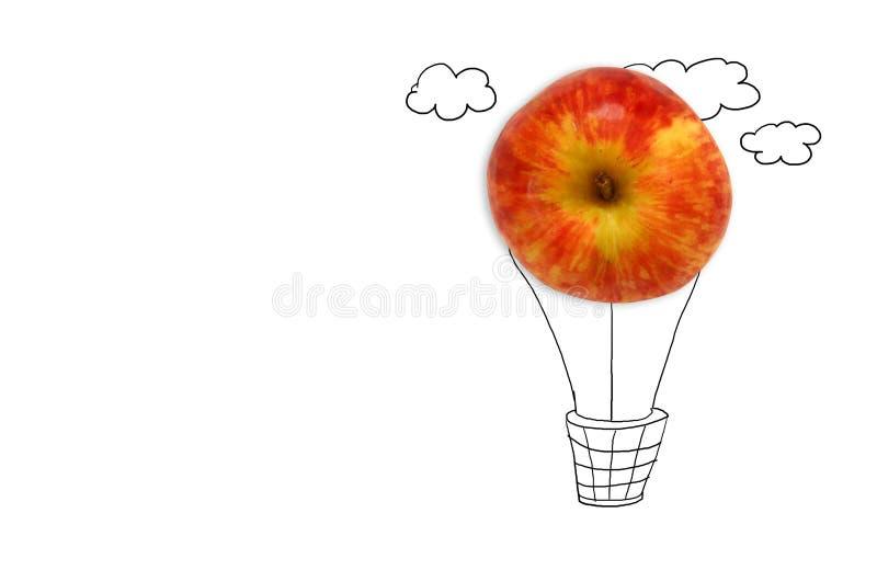 concepto de imaginación y de creatividad stock de ilustración