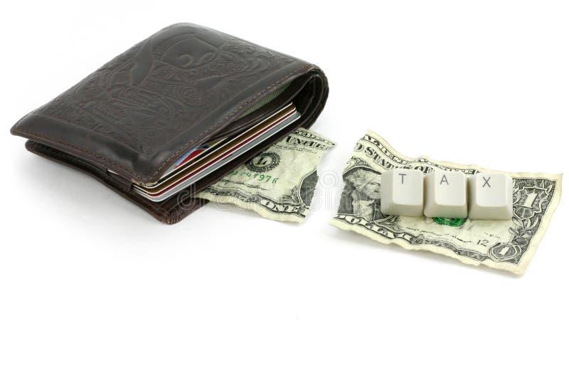 Concepto de impuesto fotografía de archivo libre de regalías