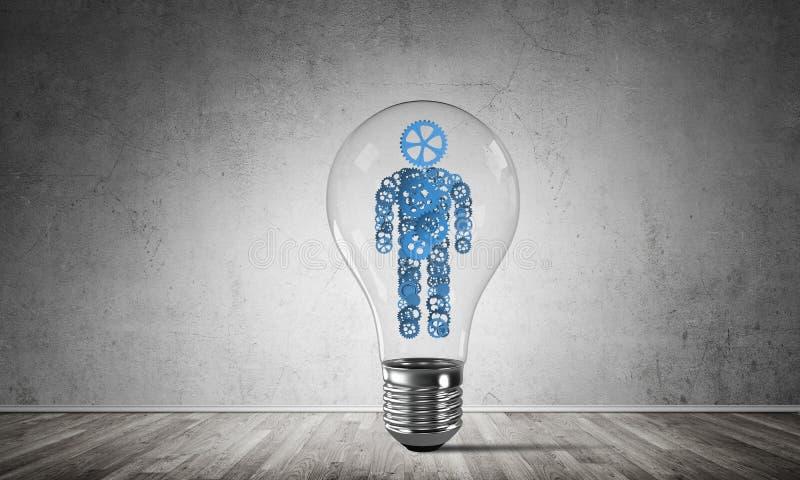 Concepto de innovaciones eficaces para la humanidad libre illustration