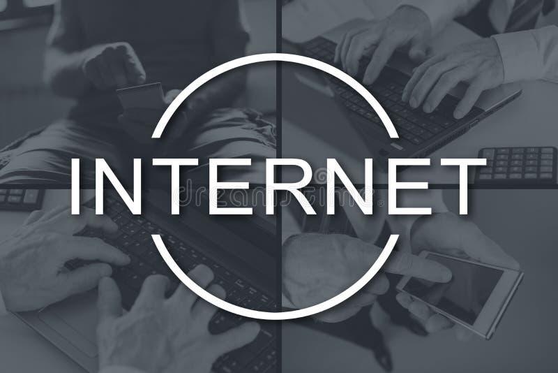 Concepto de Internet imagen de archivo libre de regalías