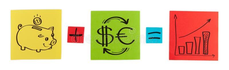 Concepto de inversión.   imagen de archivo