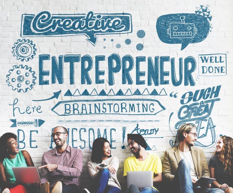 Concepto de Investor Business Leader del empresario imagen de archivo