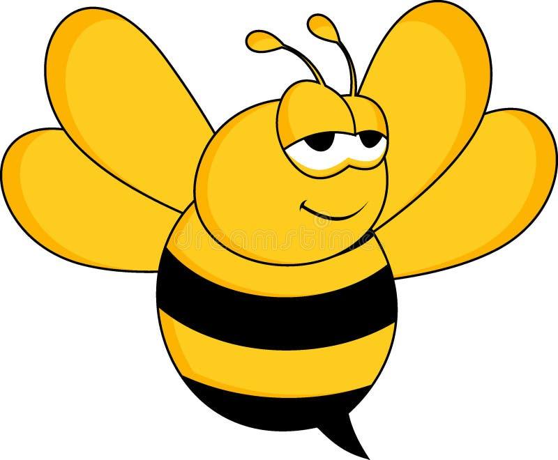Concepto de la abeja de los diseños fotos de archivo