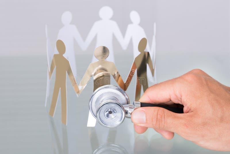 Concepto de la atención sanitaria de la gente imágenes de archivo libres de regalías